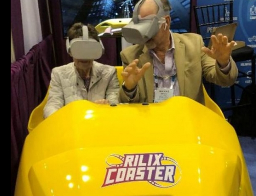 New for 2020 – VR Coaster
